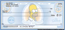 """The Simpsons"" Personal Check Designs"