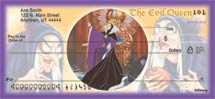 """Disney Legendary Villains"" Personal Check Designs"
