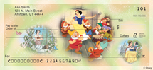 """Disney Princess Stories"" Personal Check Designs"