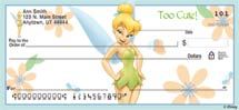 """Tinker Bell Magic!"" Personal Check Designs"