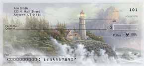 Thomas Kinkade's Lighthouses Inspirational Christian Check Designs