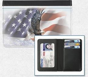 God Bless America Debit Card Holder