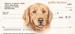 Golden Retriever Dog Check Designs