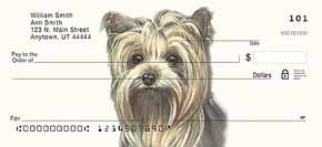 Yorkie Dog Check Designs