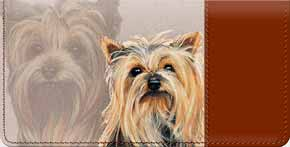 Yorkshire Terrier Checkbook Cover - Yorkie Covers