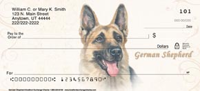 German Shepherd Dog Check Designs