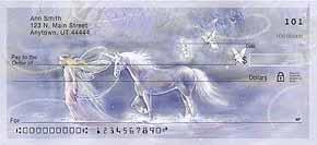Follow Your Dreams Fantasy Unicorn and Fairy Checks