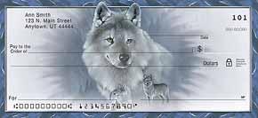 Spirit of the Wilderness Wolf Check Designs