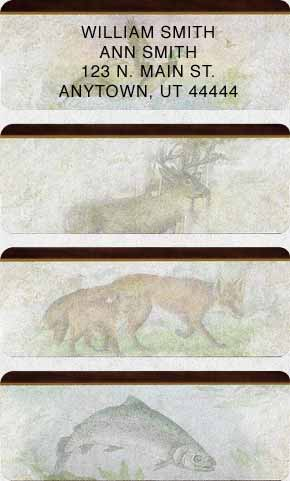 American Wildlife 240 Sheeted Address Labels