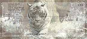 Vanishing Treasures Tiger Check Designs