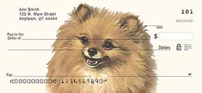 Pomeranian Dog Check Designs