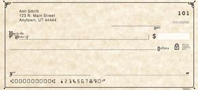 Scroll Personal Checks