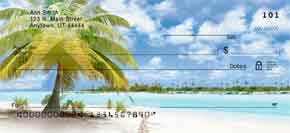 Tropical Paradise Personal Check Designs
