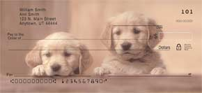 Puppy Pals Personal Check Designs
