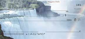 Majestic Waterfalls Personal Check Designs