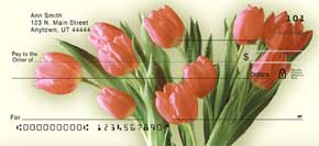 Tulip Time Personal Check Designs