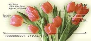 Tulip Time Personal Check Designs