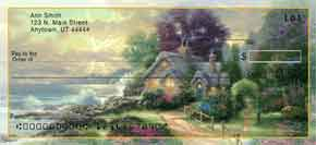 Thomas Kinkade's Seasons of Reflection Personal Check Designs