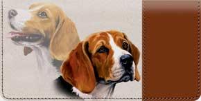 Beagle Checkbook Cover