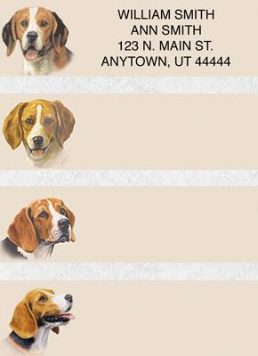 Beagle Address Labels