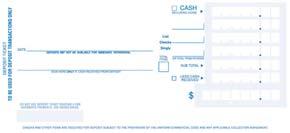 Single Deposit Tickets