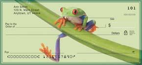 Froggy Fun Personal Check Designs
