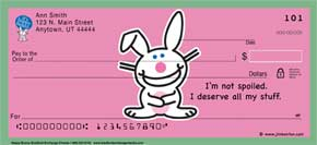 Happy Bunny Checks