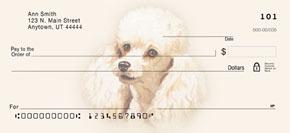 Linda Picken Poodle Art Checks