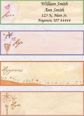 Heartfelt Expressions Booklet of 150 Address Labels