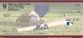 New York Mets(TM) Major League Baseball(R) Personal Check Designs