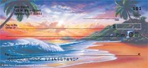 Hawaiian Sunsets Personal Check Designs