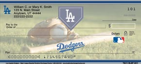 Los Angeles Dodgers(TM) Major League Baseball(R) Personal Check Designs