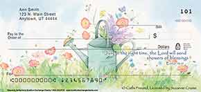 Heavenly Reflections Personal Check Designs