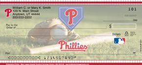 Philadelphia Phillies(TM) Major League Baseball(R) Personal Check Designs