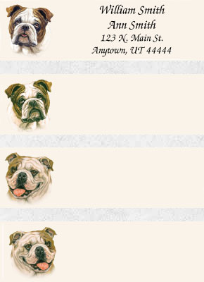 Bulldog Address Labels