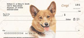 Welsh Corgi Personal Checks