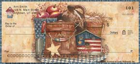 """American Heartland"" Personal Check Designs"