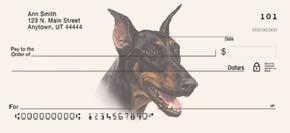 Doberman Personal Checks