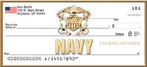 U.S. Navy Personal Check Designs