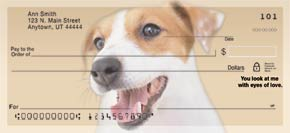 Faithful Friends - Jack Russell Terrier Personal Check Designs
