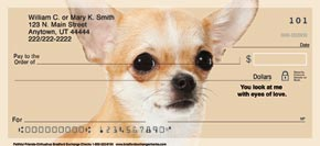 Faithful Friends - Chihuahua Personal Check Designs