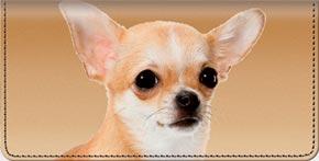 Chihuahua Checkbook Cover