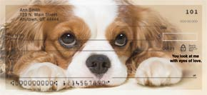 Faithful Friends - Cavalier King Charles Personal Check Designs