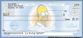 The Simpsons Checks