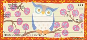 Challis & Roos Awesome Owls Personal Check Designs