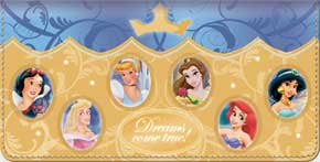 Disney Princess Stories Checkbook Cover