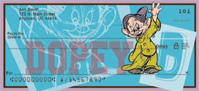 The Seven Dwarfs Personal Check Designs