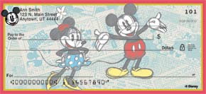Sketch Book Mickey Checks