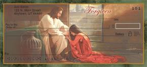 Forgiven Personal Check Designs