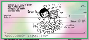 Love Is... Personal Check Designs